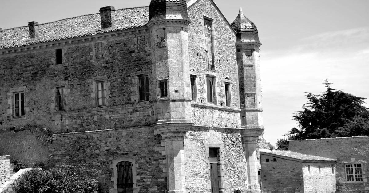 Abbaye de Lieu Dieu in the Vendee
