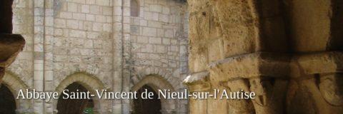 Nieul sur l'Autize abbey in the Vendee