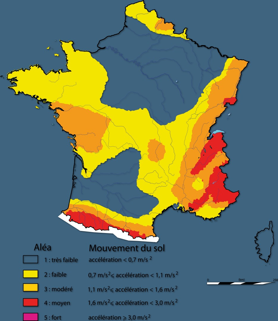 Map Of France Vendee Region.Did You Feel That Earthquake In The Vendee In The Vendee