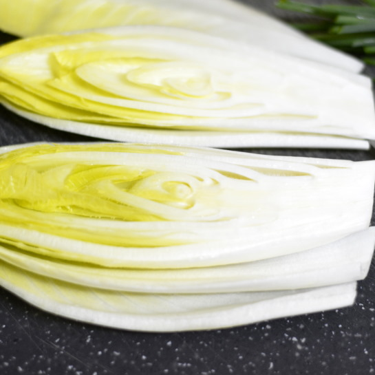 endive with the core still in