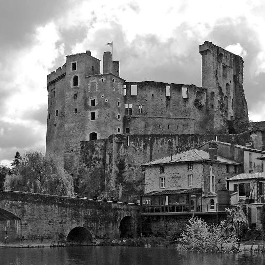 Chateau de Clisson in Clisson