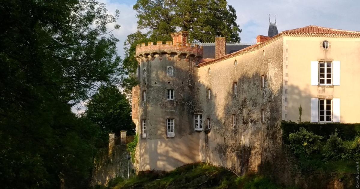 chateau de la Recepte in Vouvant