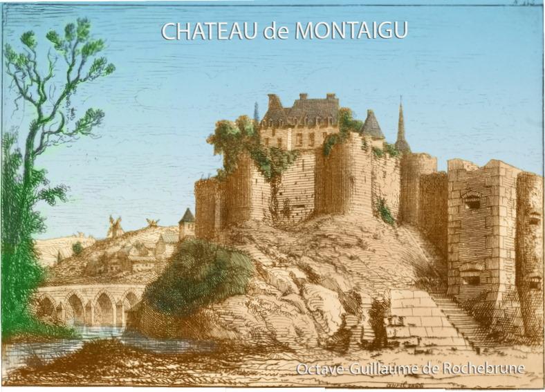Octave de Rochebrune Chateau de Montaigu Vendee