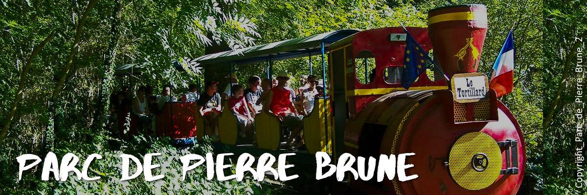 Pierre Brune amusement park in Mervent