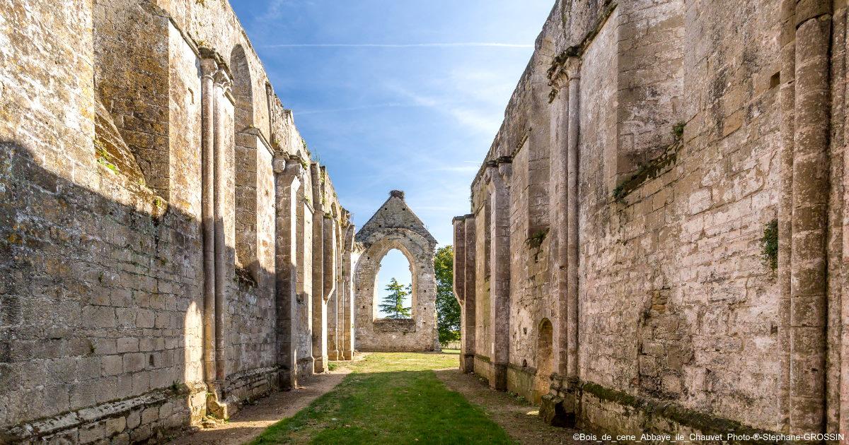 Abbey of Ile de Chauvet in the Vendee