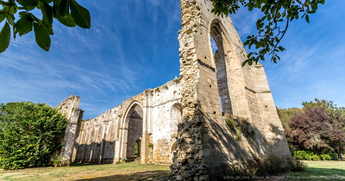 Abbey of Ile de Chauvet in the Vendee