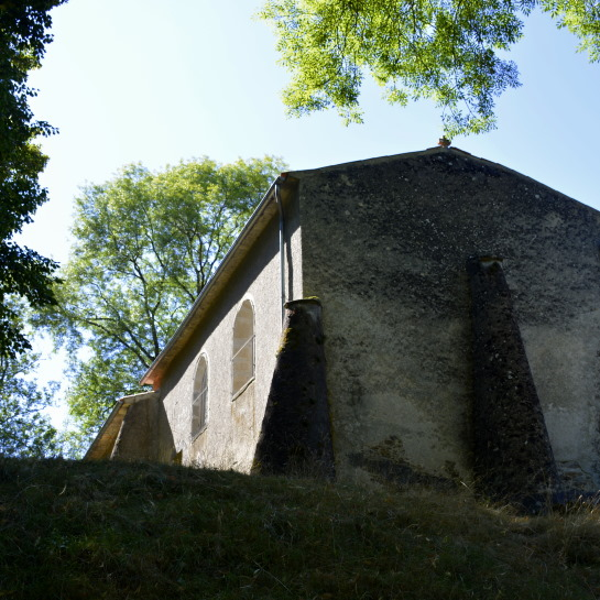 Chapelle de la Brossardiere on the hill