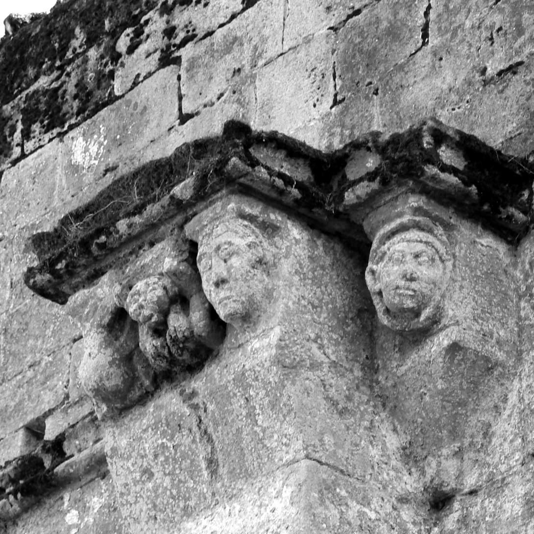 Abbaye de l'Ile Chauvet detail Vendée