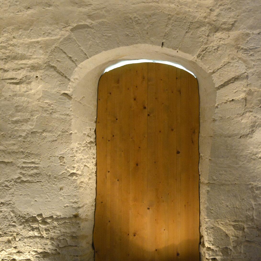 Prieurie de Grammont in Saint Prouant in the Vendée door