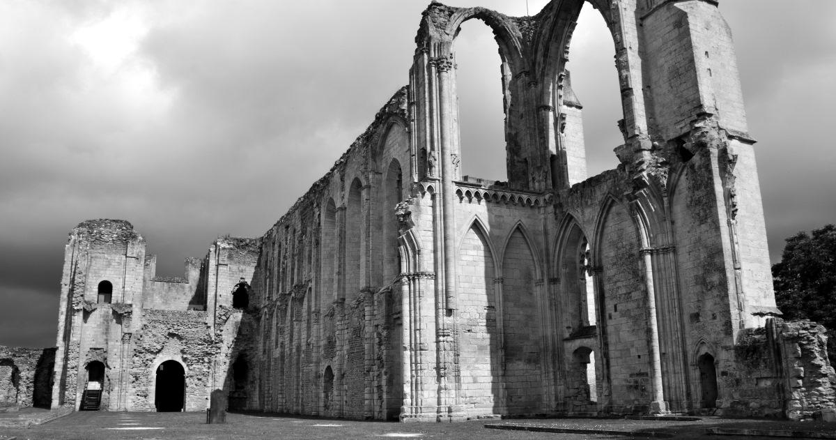 Abbaye de Maillezais in the Vendee