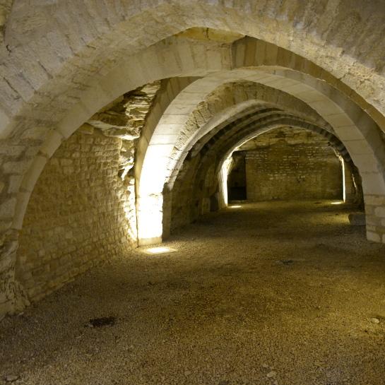 Maillezais wine cellar