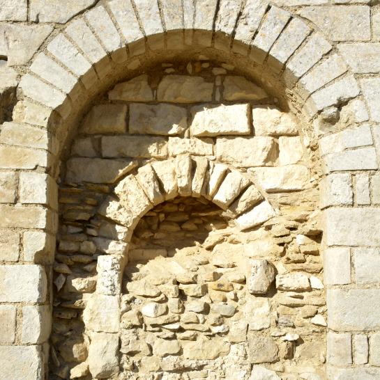 Maillezais Abbey detail