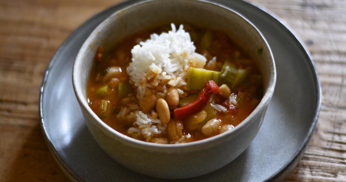 gumbo and rice