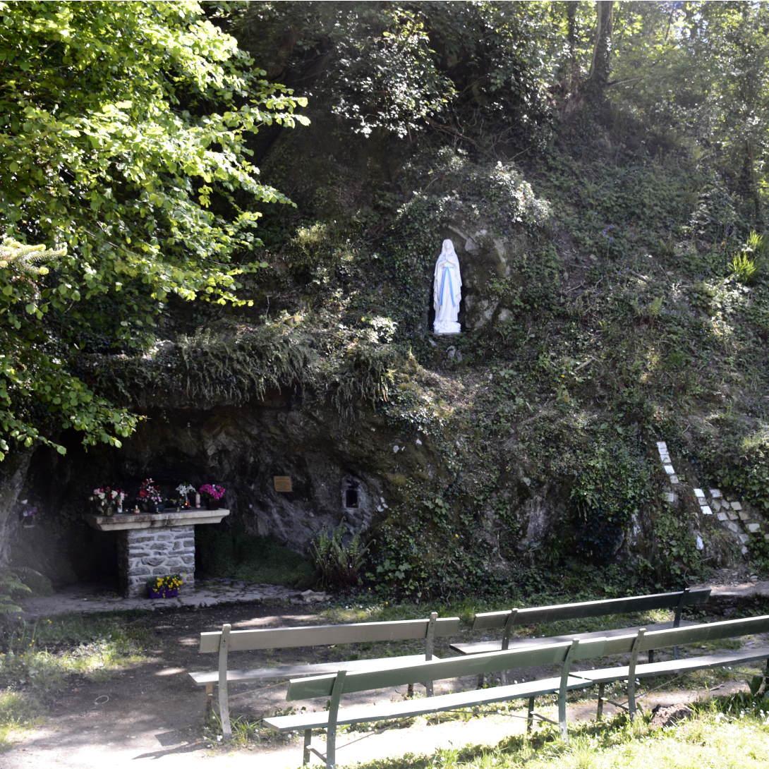 Lourdes pilgrimage in Vouvant