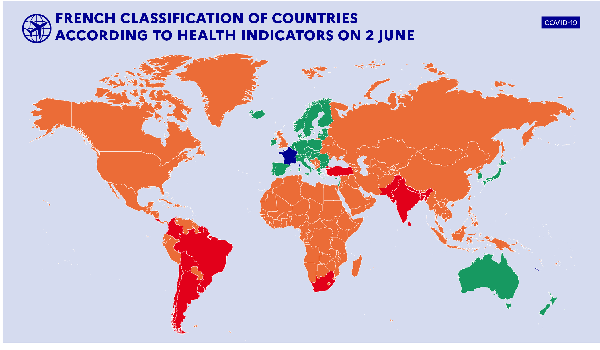 Worldmap-2nd-June-Covid-19 French Government