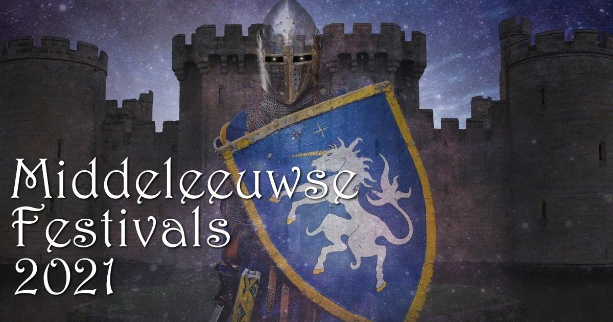 Middeleeuwse festivals 2021 vendee