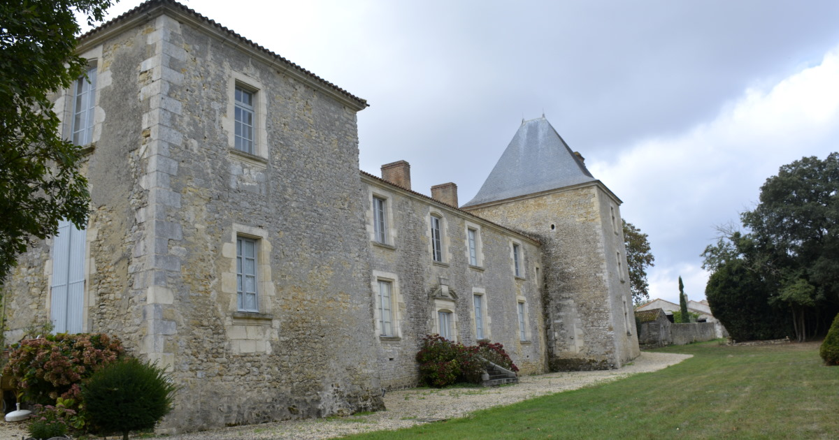 Chateau de Bessay in the Vendee